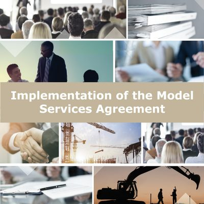 Implementation of the Model Services Agreement